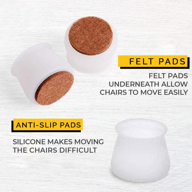 🎅🤶Christmas Promotion💥4 Pieces Only $9.99--Felt Table Chair Protective Cover