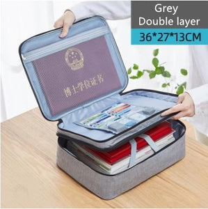 Amazing Waterproof & Fireproof Document Organizer