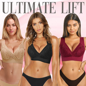 💥BUY 2 GET 1 FREE💥Clare Ultimate Lift Stretch Full-Figure Seamless Lace Flory Bra
