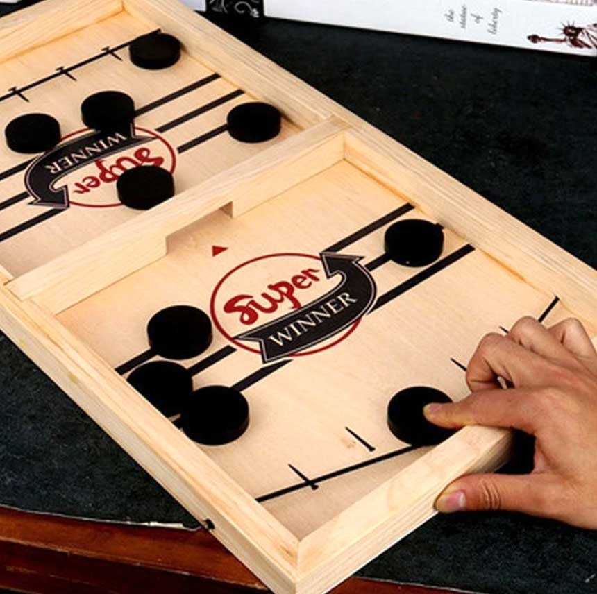 🎄The Hottest Christmas Game🔥Wooden Hockey Game