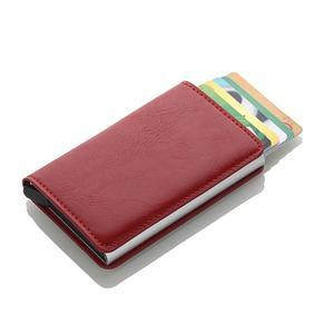 Leather RFID Secure Cash and Cards Wallet - Holds lots of cards and cash