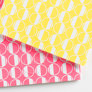 Pack of Two Eau Pocketbooks, Luminous Yellow and Hot Pink