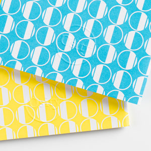 Pack of Two Eau Pocketbooks, Swimming Pool Blue and Luminous Yellow