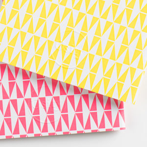 Pack of Two Flash Pocketbooks, Luminous Yellow and Hot Pink