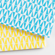 Load image into Gallery viewer, Pack of Two Flash Pocketbooks, Swimming Pool Blue and Luminous Yellow