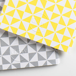 Pack of Two Windmill Pocketbooks, Luminous Yellow and Subtle Silver