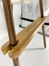 Load image into Gallery viewer, Adjustable Bamboo Footrest