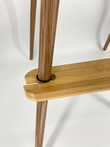 Adjustable Bamboo Footrest