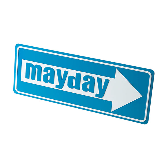 Mayday License Plate