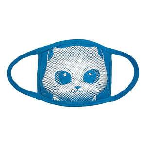 Mayday Just Rock It Blue - Face Mask (Cat)