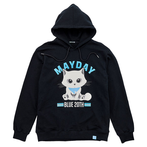 Mayday Just Rock It BLUE - Hoodie (Black)