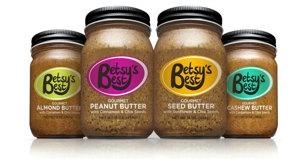 Betsy's Best Gourmet Almond Butter, Cashew Butter, Seed Butter and Peanut Butter