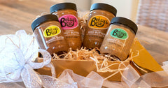 A nut butter gift box