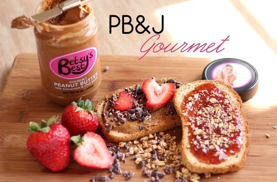 The peanut butter and jelly sandwich is going gourmet