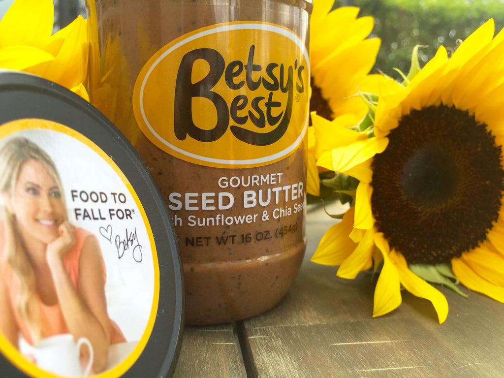 Get the benefit of sunflower seeds with Betsy's Best Gourmet Seed Butter