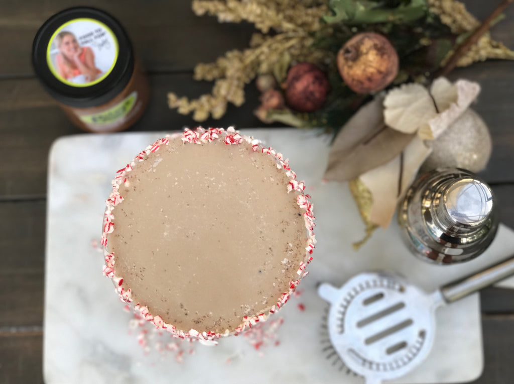 This chocolate peppermint martini recipe will make any holiday party more festive!