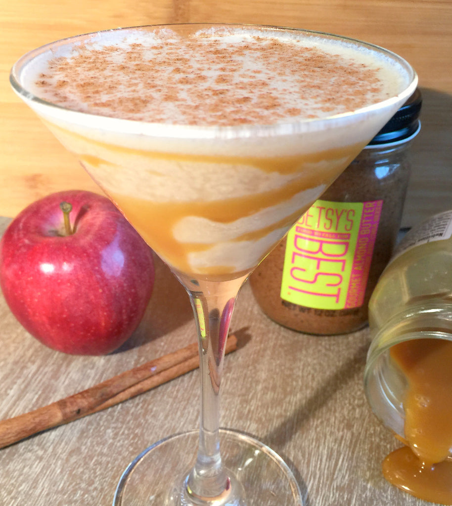 A recipe for a delicious Betsy's Best apple pie martini