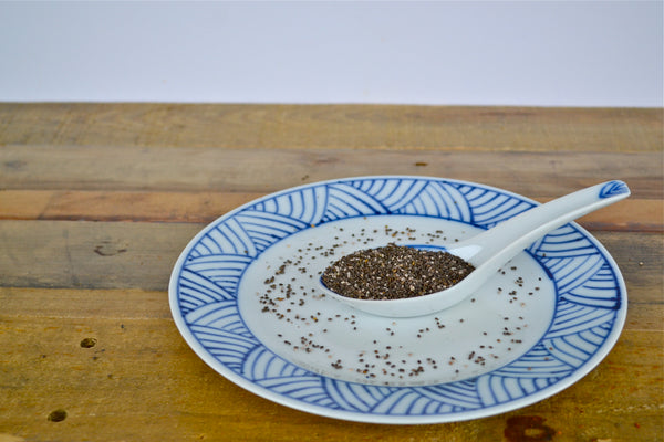 Chia seeds are a great source of omega 3 fatty acids