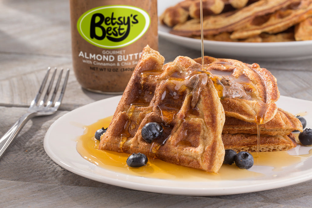 A recipe for homemade gluten-free waffles