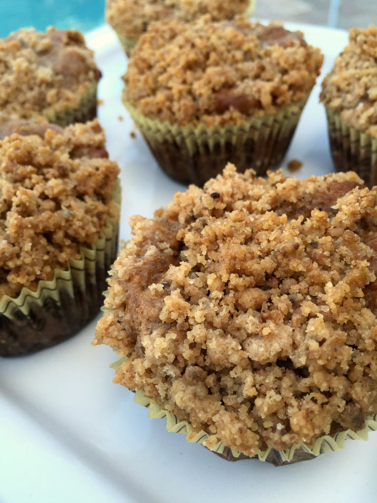Betsy's Best Almond Butter Zucchini Muffins