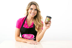 Betsy's Best Apron (Black and Pink)