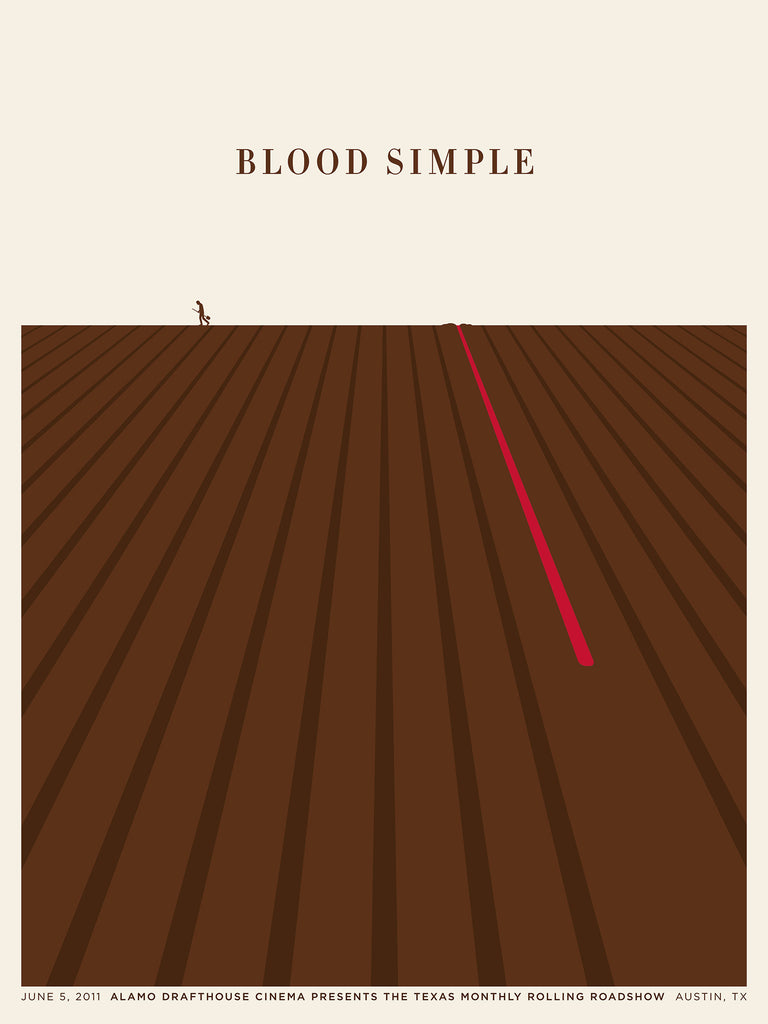 Blood Simple Poster by Jason Munn