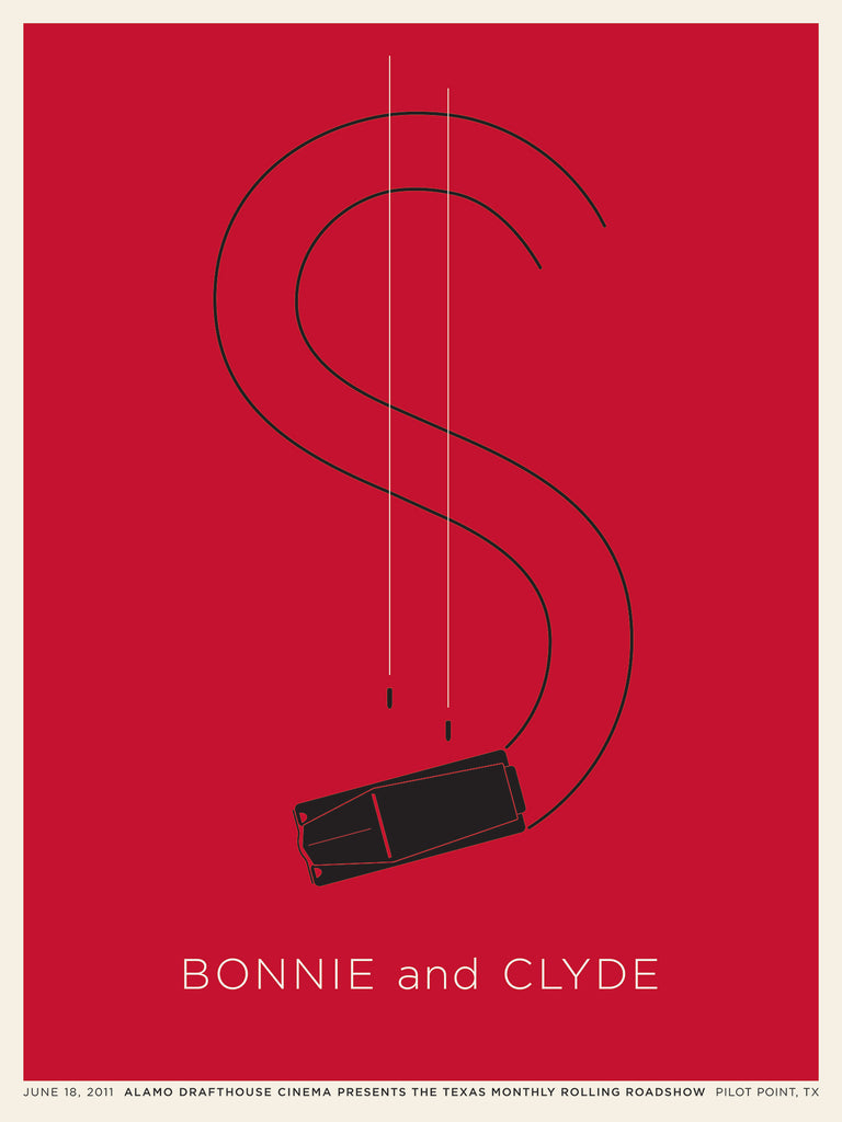 Bonnie and Clyde Poster by Jason Munn