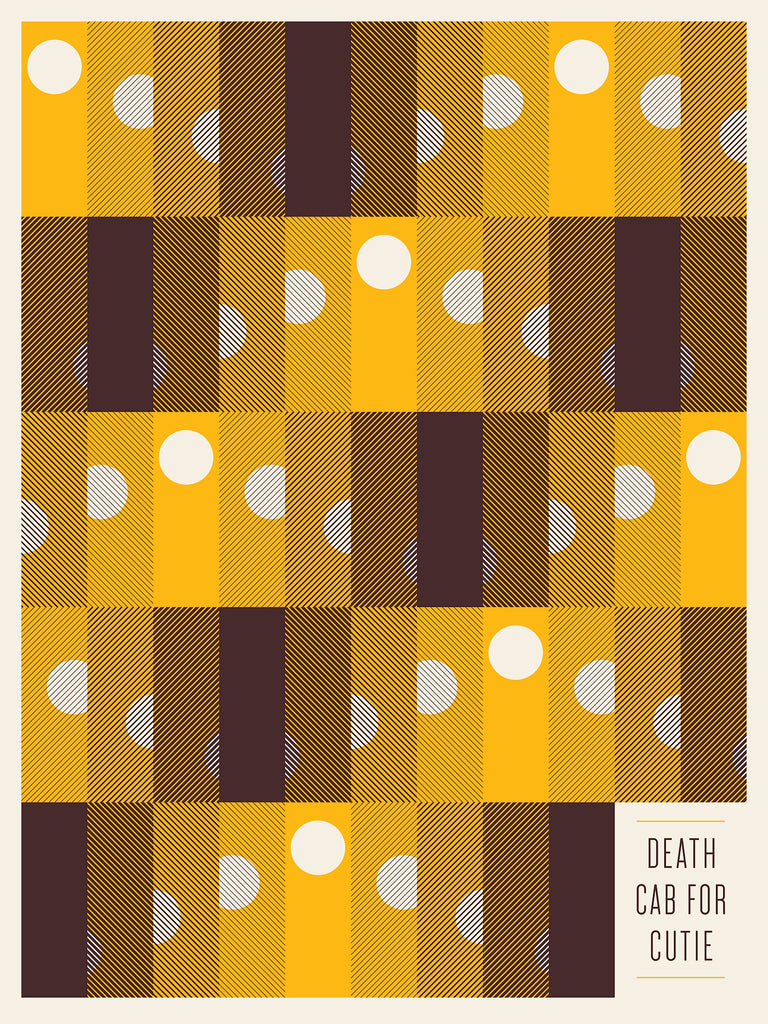 Death Cab for Cutie Poster by Jason Munn