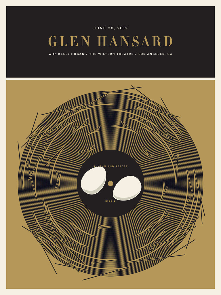 Glen Hansard Poster by Jason Munn