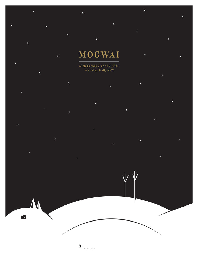 Mogwai Poster by Jason Munn