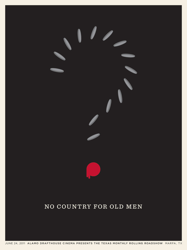 No Country For Old Men Poster by Jason Munn