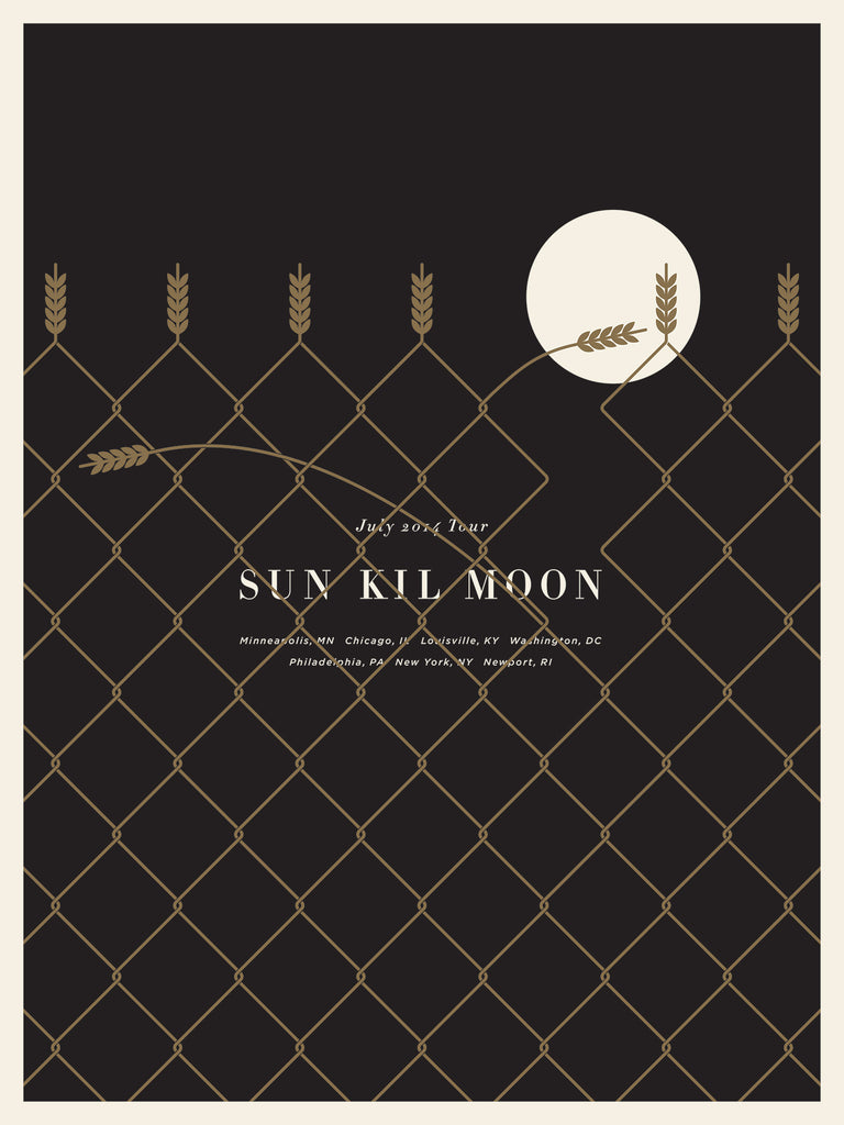 Sun Kil Moon Poster by Jason Munn