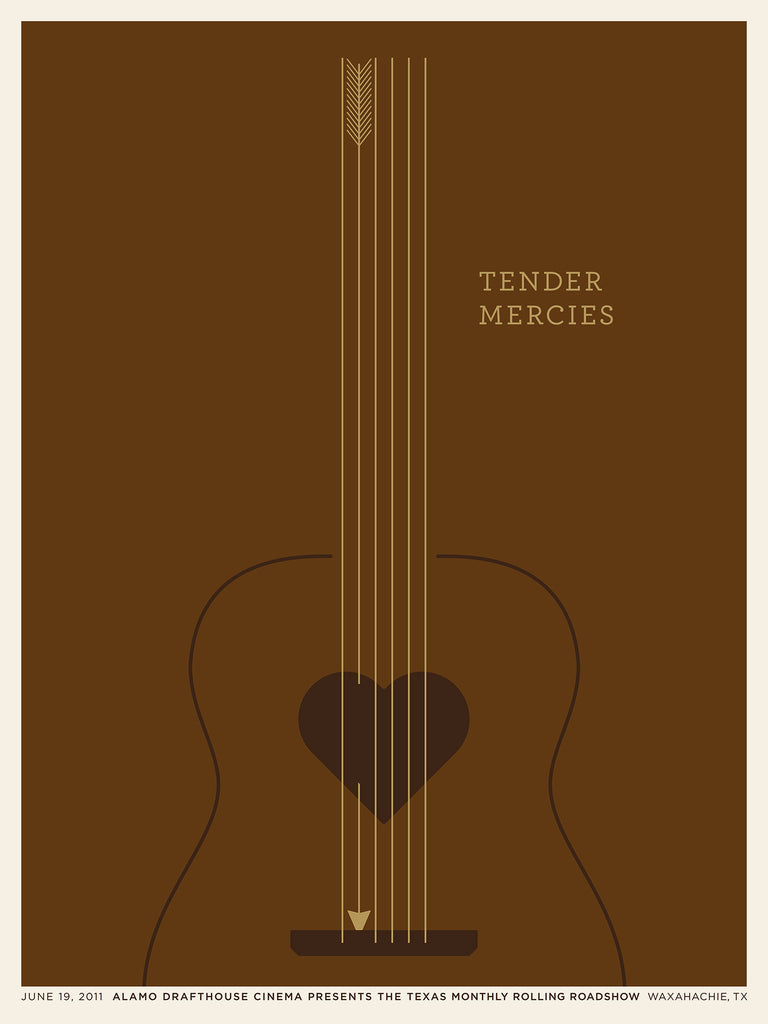 Tender Mercies Poster by Jason Munn