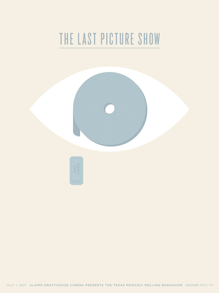 The Last Picture Show Poster by Jason Munn