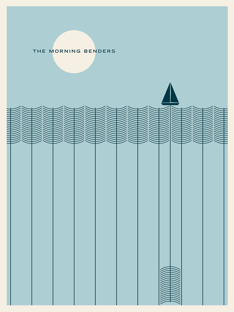 The Morning Benders Poster by Jason Munn