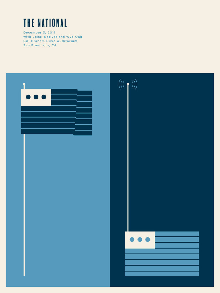 The National Poster by Jason Munn