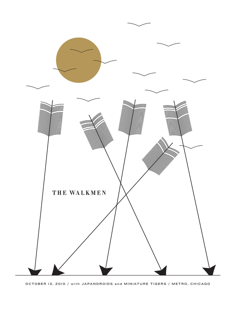 The Walkmen Poster by Jason Munn