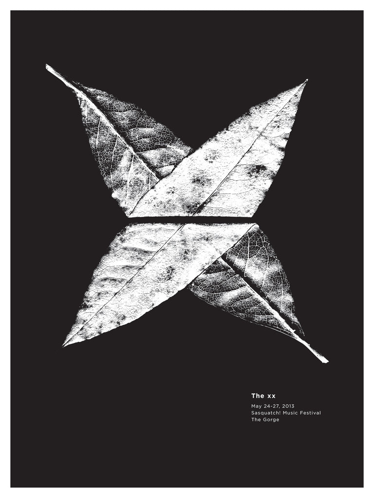 The xx Poster by Jason Munn