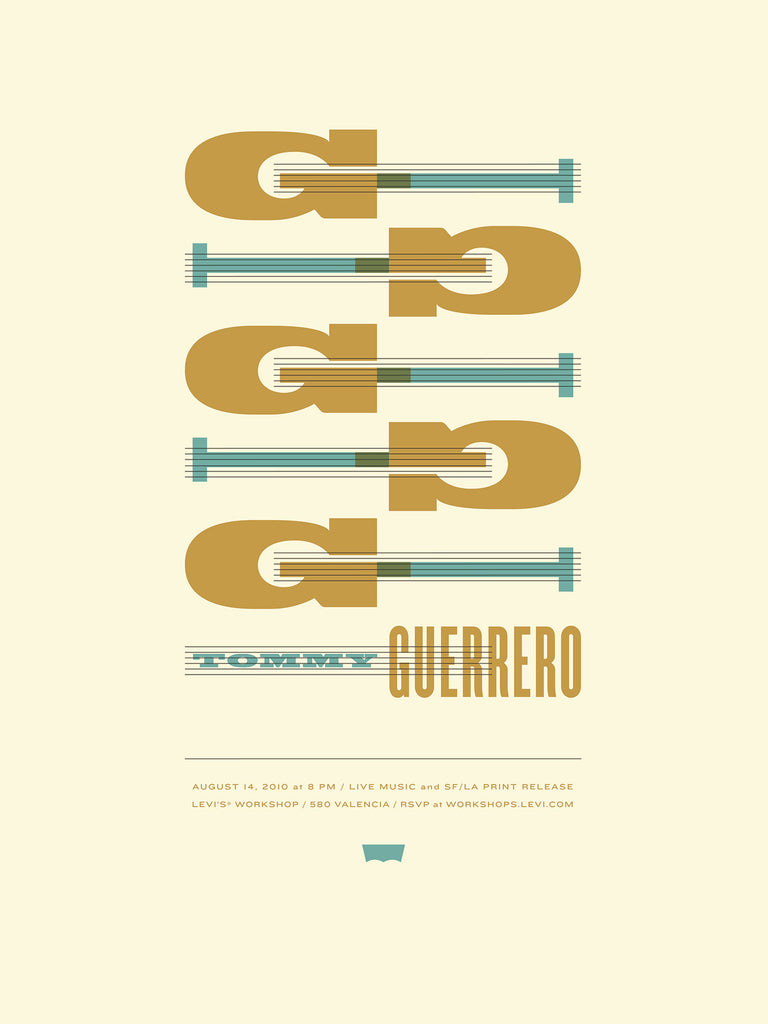 Tommy Guerrero Poster by Dirk Fowler and Jason Munn