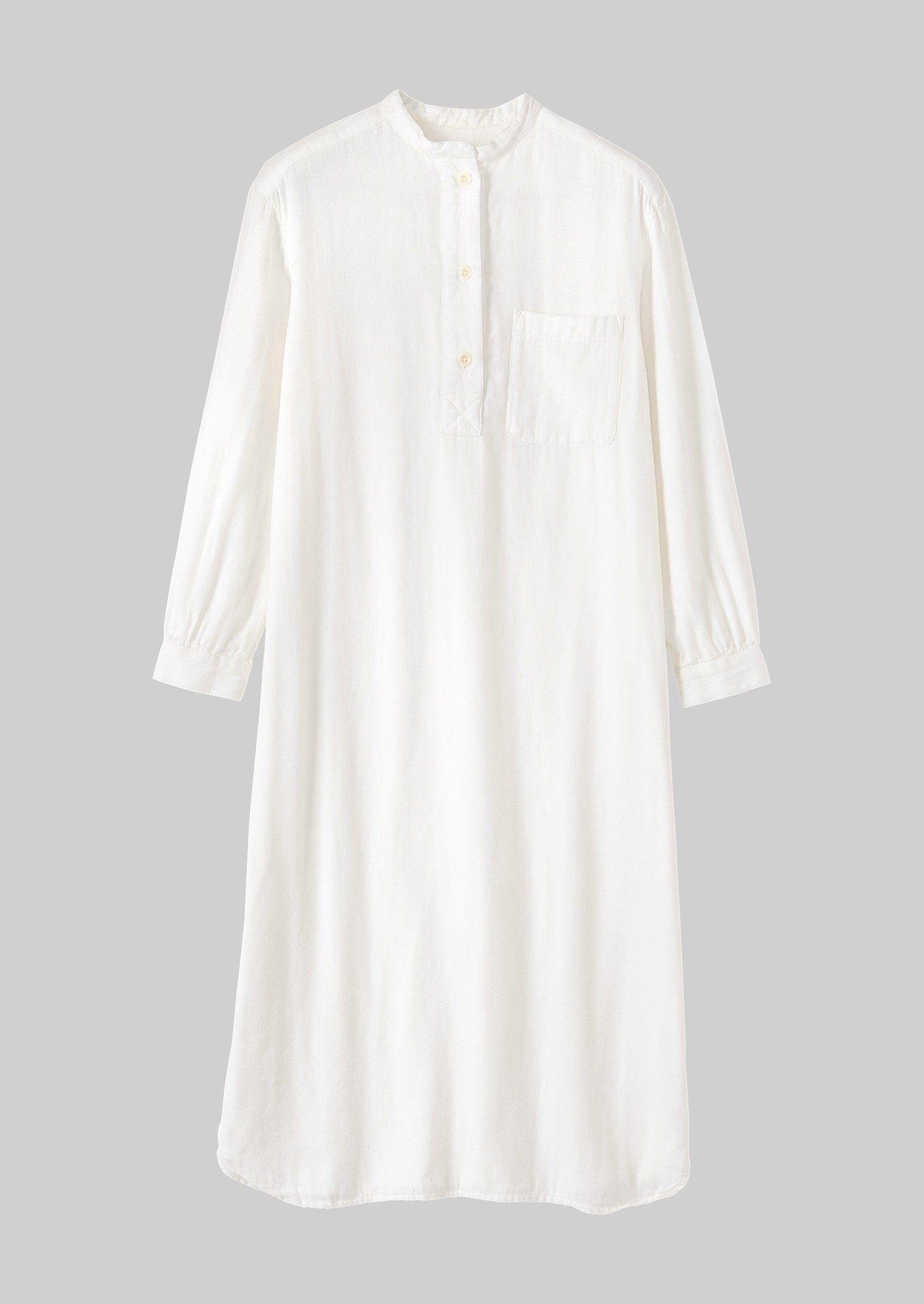 Bea Soft Double Cotton Nightshirt | Parchment ?id=16768498237474