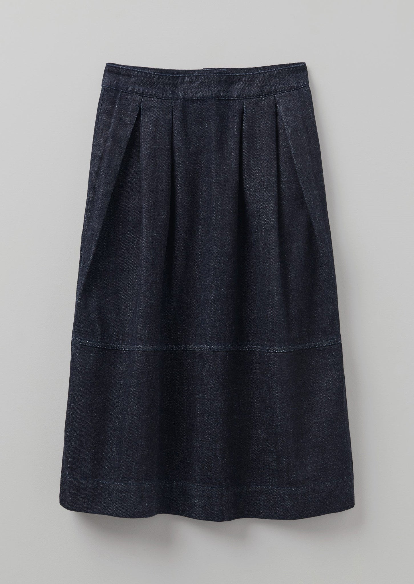 Indigo Denim Panel Skirt | Indigo ?id=16692154171426