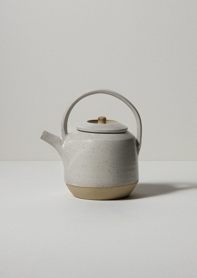 Pottery West Teapot | Paper White ?id=16768504561698