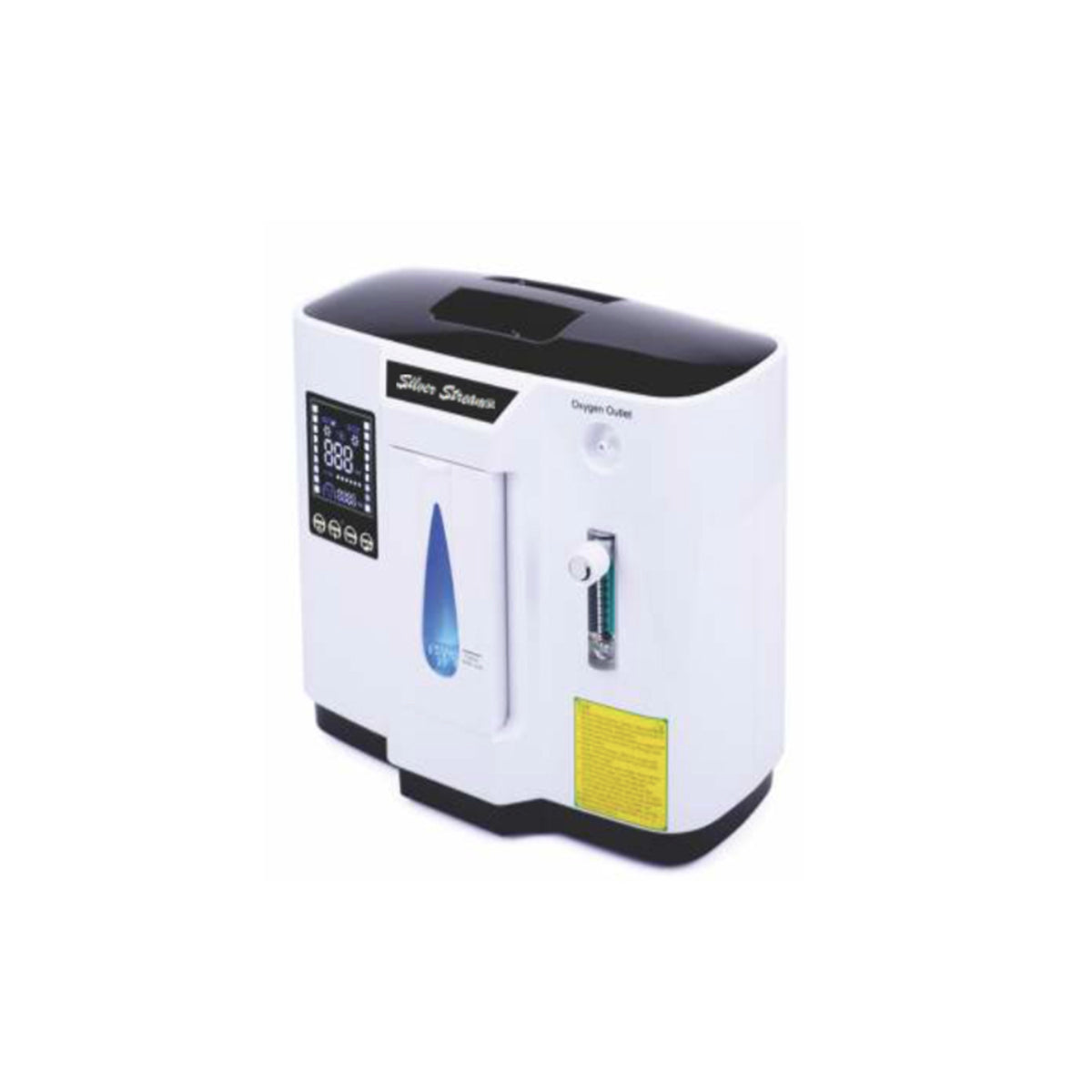 The Silver Stream® Portable Oxygen Concentrator helps enable patients to live with greater independence while providing caregivers with the peace of mind that comes with a reliable and trusted ventilation system with a long battery life.