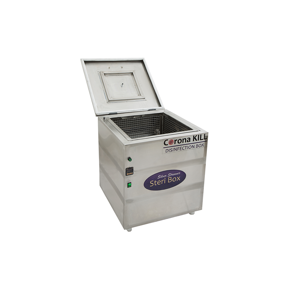 The Silver Stream® Steri Box has been carefully conceived to provide direct germicidal ultraviolet exposure for surface of various personal items like Mask, Gloves, Medical Instruments, Mobile Phone, Car Keys, Purse, News Paper, Pen, Watches, Gold Chain, Belt, etc.   The dosage, as it applies to ultraviolet disinfection, is a function of time, and the intensity, of ultraviolet radiation, to which the surfaces of product exposed.