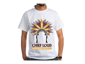 CHIEF LOUD WASHINGTON D.C. 50/50 Short Sleeve Tee - Chief Loud