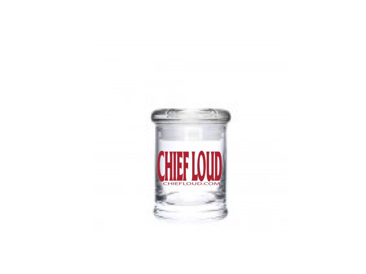 CHIEF LOUD Suction Lid Glass Jars - 5 PACK