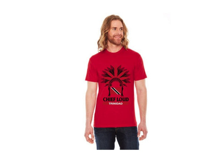 CHIEF LOUD TRINIDAD 50/50 Short Sleeve Tee - Chief Loud