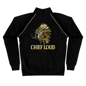 CHIEF LOUD Piped Fleece Jacket - Chief Loud