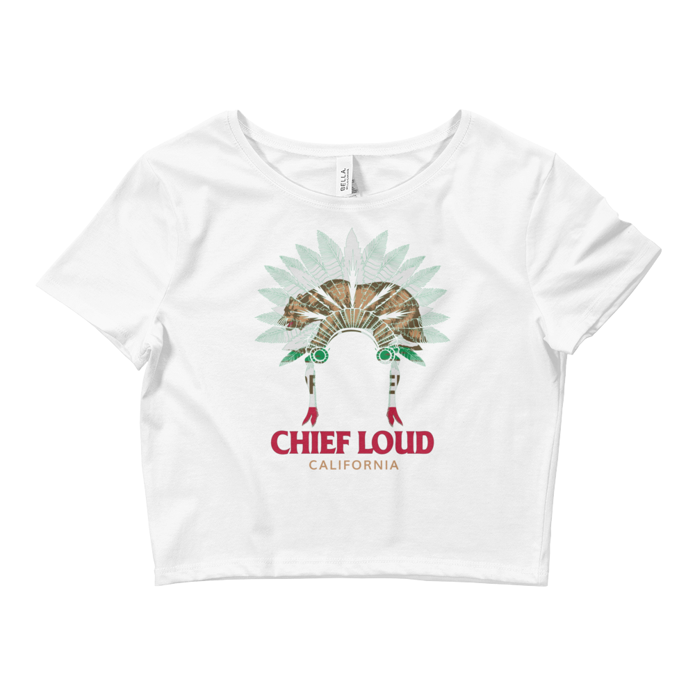 CHIEF LOUD Crop Tee - Chief Loud