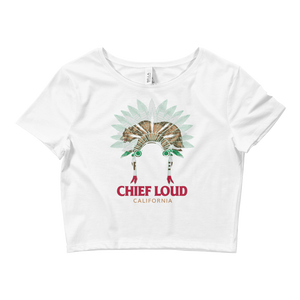 CHIEF LOUD Crop Tee